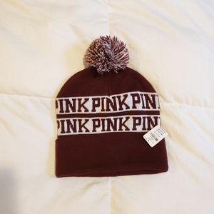 Maroon PINK Winter Hat
